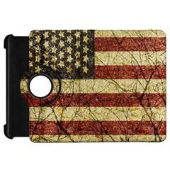 Vinatge American Roots Kindle Fire Hd 7  (1st Gen) Flip 360 Case