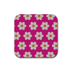 Daisies Drink Coasters 4 Pack (square) by SkylineDesigns