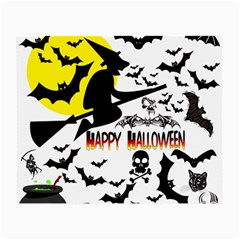 Happy Halloween Collage Glasses Cloth (small, Two Sided) by StuffOrSomething
