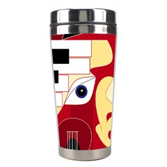Soul Man Stainless Steel Travel Tumbler by AlfredFoxArt