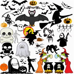 Halloween Mashup Canvas 20  X 20  (unframed) by StuffOrSomething