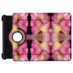 Pink Gladiolus Flowers Kindle Fire Hd 7  (1st Gen) Flip 360 Case