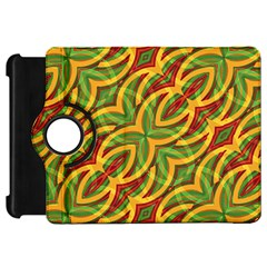 Tropical Colors Abstract Geometric Print Kindle Fire Hd 7  (1st Gen) Flip 360 Case by dflcprints