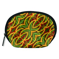 Tropical Colors Abstract Geometric Print Accessory Pouch (medium) by dflcprints