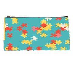 Puzzle Pieces Pencil Case