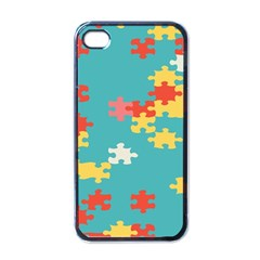Puzzle Pieces Apple Iphone 4 Case (black)