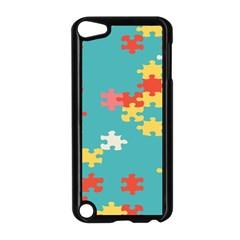Puzzle Pieces Apple Ipod Touch 5 Case (black)