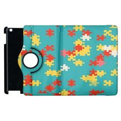 Puzzle Pieces Apple Ipad 3/4 Flip 360 Case