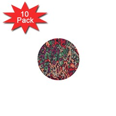 Color Mix 1  Mini Button (10 Pack)