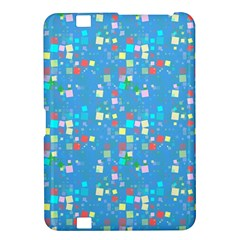 Colorful Squares Pattern Kindle Fire Hd 8 9  Hardshell Case
