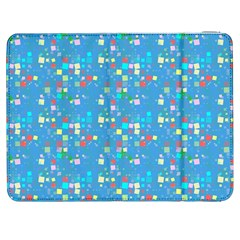 Colorful Squares Pattern Samsung Galaxy Tab 7  P1000 Flip Case