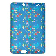 Colorful Squares Pattern Kindle Fire Hd (2013) Hardshell Case