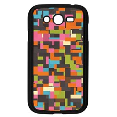 Colorful Pixels Samsung Galaxy Grand Duos I9082 Case (black)