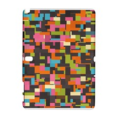 Colorful Pixels Samsung Galaxy Note 10 1 (p600) Hardshell Case