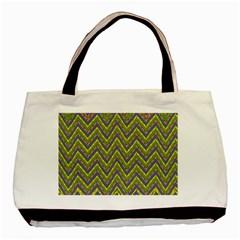 Zig Zag Pattern Classic Tote Bag