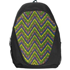 Zig Zag Pattern Backpack Bag