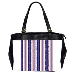 Native American Curly Stripes   2 Oversize Office Handbag (two Sides) by BestCustomGiftsForYou