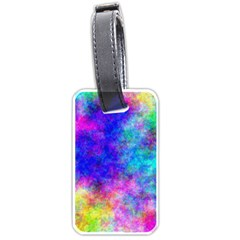 Plasma 25 Luggage Tag (one Side) by BestCustomGiftsForYou