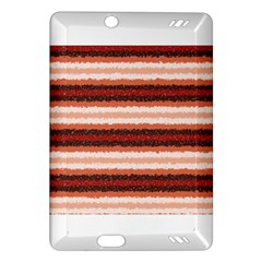 Horizontal Native American Curly Stripes   1 Kindle Fire Hd (2013) Hardshell Case by BestCustomGiftsForYou