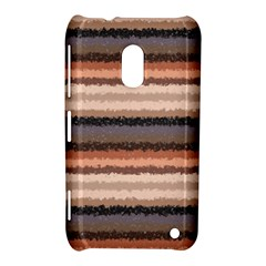 Horizontal Native American Curly Stripes   4 Nokia Lumia 620 Hardshell Case by BestCustomGiftsForYou