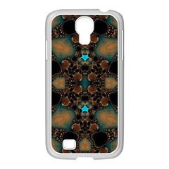 Elegant Caramel  Samsung Galaxy S4 I9500/ I9505 Case (white)