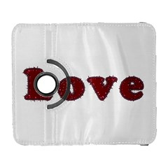 Love Typography Text Word Samsung Galaxy S  Iii Flip 360 Case by dflcprints