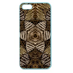 Golden Animal Print  Apple Seamless Iphone 5 Case (color)