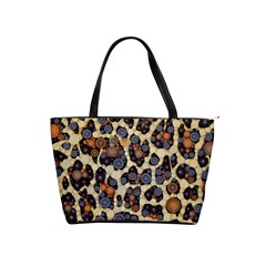 Cheetah Abstract Large Shoulder Bag by OCDesignss
