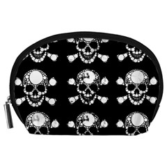 Skull Bling Accessory Pouch (large) by OCDesignss