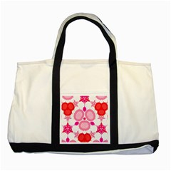 Strawberry Shortcakee Two Toned Tote Bag by OCDesignss