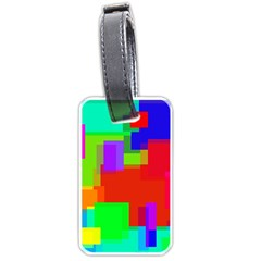 Pattern Luggage Tag (one Side) by Siebenhuehner
