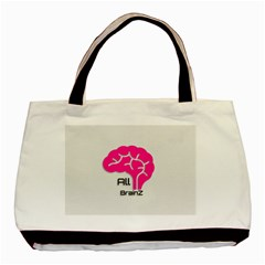 All Brains Leather  Classic Tote Bag