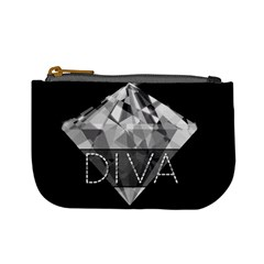 Diva Diamond  Coin Change Purse by OCDesignss