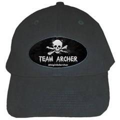 R.Archer Black Baseball Cap by KattsKreations