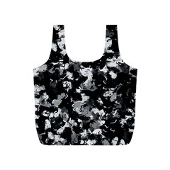 Shades Of Gray  And Black Oils #1979 Reusable Bag (s) by Khoncepts