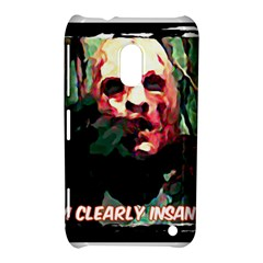 Bloody Face  Nokia Lumia 620 Hardshell Case by Cordug