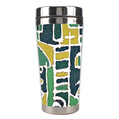 Colorful Tribal Abstract Pattern Stainless Steel Travel Tumbler by dflcprints