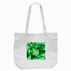 Playing In The Rain Tote Bag (white) by retz