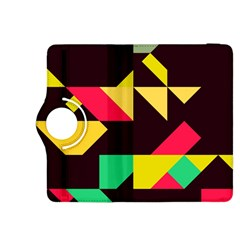 Shapes In Retro Colors 2 Kindle Fire Hdx 8 9  Flip 360 Case by LalyLauraFLM