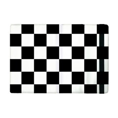 Checkered Flag Race Winner Mosaic Tile Pattern Apple Ipad Mini 2 Flip Case by CrypticFragmentsColors
