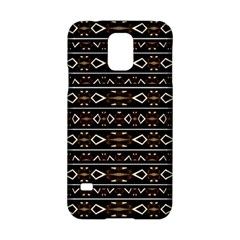 Tribal Dark Geometric Pattern03 Samsung Galaxy S5 Hardshell Case  by dflcprints