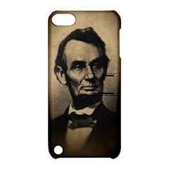Vintage Civil War Era Lincoln Apple Ipod Touch 5 Hardshell Case With Stand