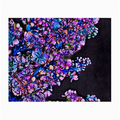 Abstract Lilacs Glasses Cloth (small) by bloomingvinedesign