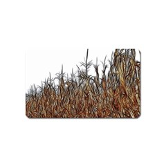 Abstract Of A Cornfield Magnet (name Card)