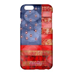 Distressed American Flag Apple Iphone 6 Plus Hardshell Case by bloomingvinedesign