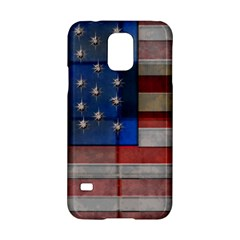 American Flag Quilt Samsung Galaxy S5 Hardshell Case  by bloomingvinedesign