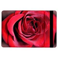 An Open Rose Apple Ipad Air 2 Flip Case