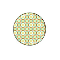 Aqua Mint Pattern Golf Ball Marker 10 Pack (for Hat Clip)