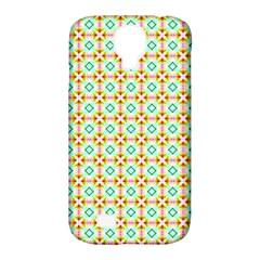 Aqua Mint Pattern Samsung Galaxy S4 Classic Hardshell Case (pc+silicone)