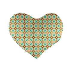 16  Premium Flano Heart Shape Cushion